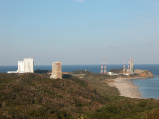種子島宇宙センター 大型ロケット発射場