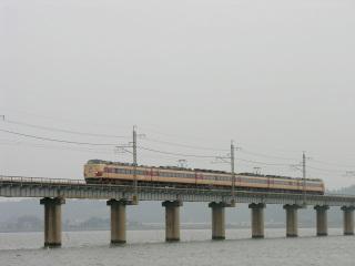 鹿島線北浦橋梁にて