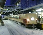 大垣駅にて