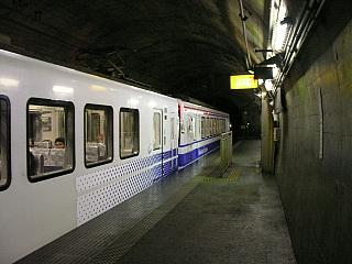 美佐島駅にて