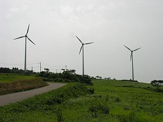 稲葉山風力発電所