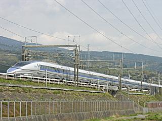 三島〜新富士間にて