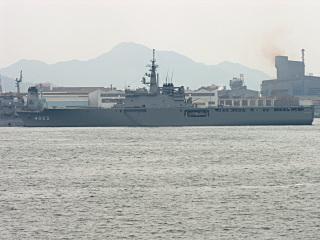 輸送艦「くにさき」(LST4003)