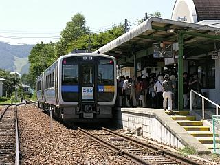 野辺山駅にて