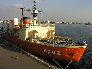 砕氷艦しらせ(AGB5002)@名古屋港