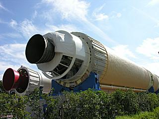 LE-7が付いたH-II展示機