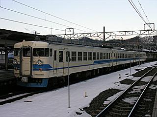 475系@敦賀駅