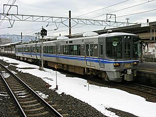 521系@敦賀駅