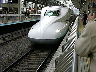 N700系「のぞみ16号」@京都駅