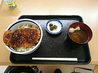 和風ソースカツ丼