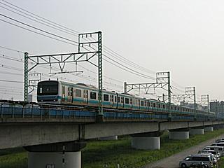 蒲田〜川崎間にて