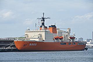 砕氷艦しらせ(AGB-5003)