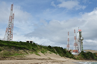 大崎海岸より吉信射点へ接近