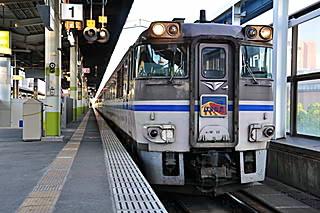 はまかぜ2号@鳥取駅