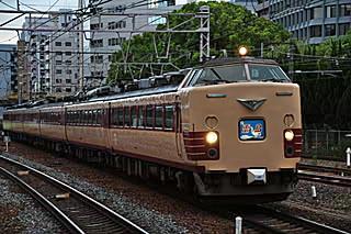 雷鳥33号@新大阪駅