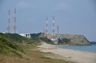 「浜」から見た吉信射点