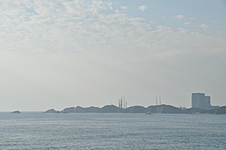 X-90 の吉信射点