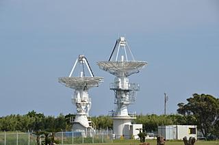 MTCS ロケットテレメータ受信用アンテナ